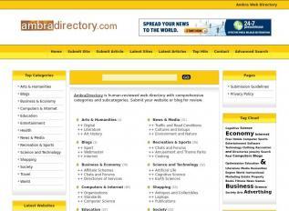 SEO rapport voor ambradirectory.com