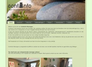 SEO rapport voor contento-massages.nl