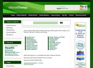 SEO rapport voor enaturaltherapy.com