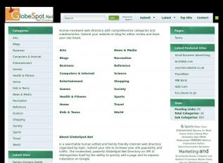 SEO rapport voor globespot.net