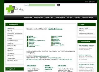 SEO rapport voor healthigg.com