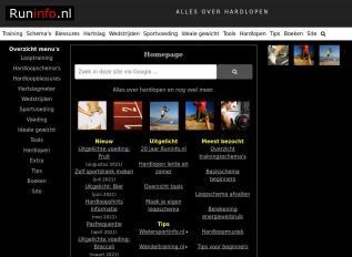 SEO rapport voor runinfo.nl